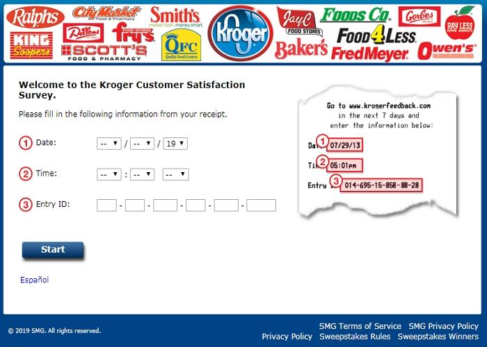 KrogerFeedback Homepage